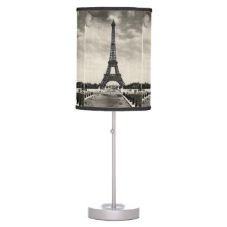 Vintage Eiffel Tower Paris Table Lamp