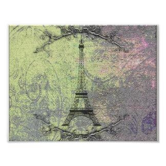 Vintage Eiffel Tower Photo Print