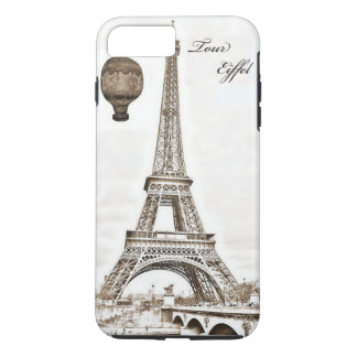 Vintage Eiffel Tower Steampunk Phone Case