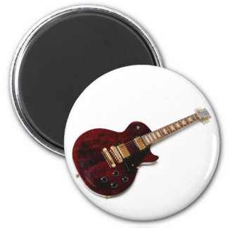Vintage Electric Guitar 2 Inch Round Magnet