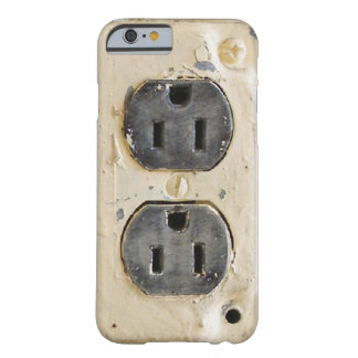 Vintage Electrical Outlet Barely There iPhone 6 Case