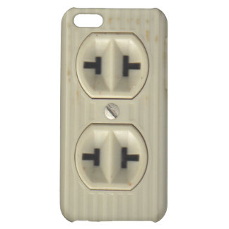 Vintage Electrical Socket Cover For iPhone 5C