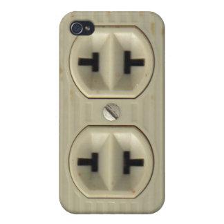 Vintage Electrical Socket iPhone 4 Case