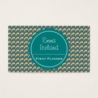 Vintage elegant business card