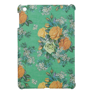 vintage elegant flowers floral theme pattern cover for the iPad mini