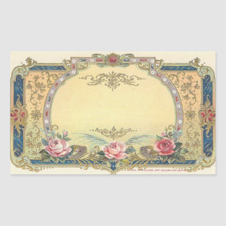 Vintage Elegant French Country Stickers