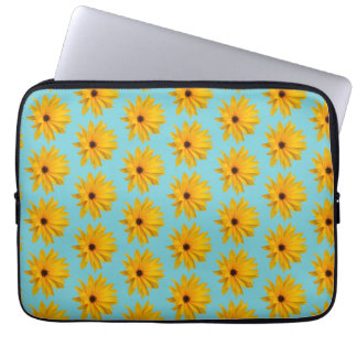 vintage elegante Blue,  yellow sunflower tote bag