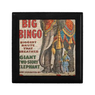 Vintage elephant gift box
