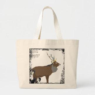 Vintage Elk Art Bag