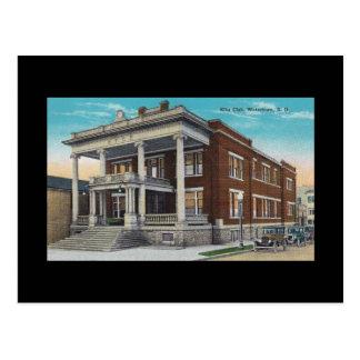 Vintage Elks Club Watertown South Dakota SD BLDG Postcard