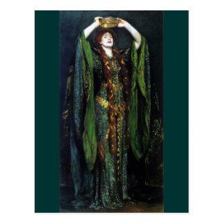 Vintage Ellen Terry as Lady Macbeth Post Card