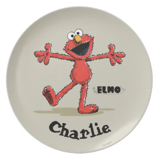 Vintage Elmo | Add Your Name Plate