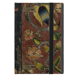 Vintage Embroidery On Velvet iPad Mini Case