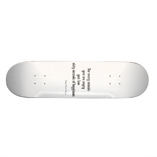 Vintage Emerson Inspirational Happiness Quote Skate Board