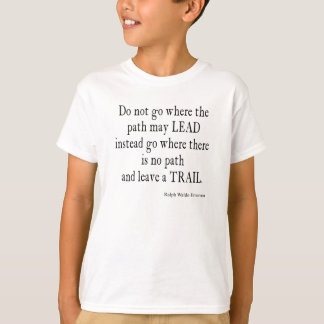 Vintage Emerson Inspirational Leadership Quote T-Shirt