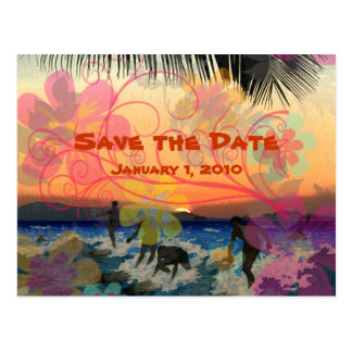 Vintage  en retro, Save the Date postcard