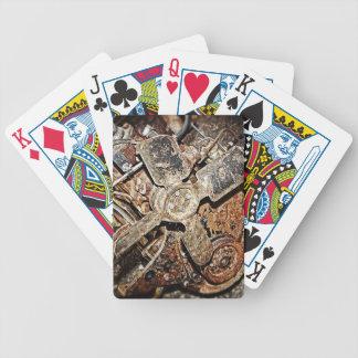 Vintage Engine Poker Deck