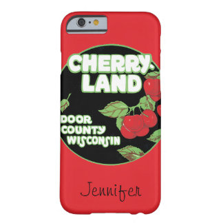 Vintage Ephemera, Cherryland Door County Wisconsin Barely There iPhone 6 Case