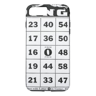Vintage Ephemera   Vintage Bingo Card iPhone 7 Plus Case