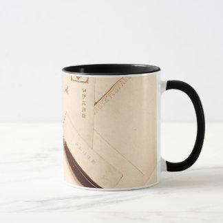 vintage ephemera wraparound mug