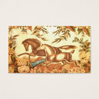 Vintage Equestrian Horse PlaceCard profile card