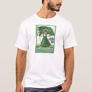 Vintage Erin Go Bragh St Patrick's Day Card T-Shirt