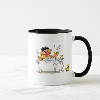 Vintage Ernie in Bathtub Mug