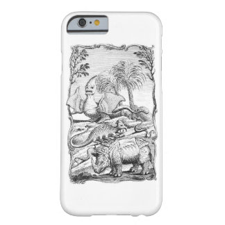 Vintage Eroneous Animal Illustration Barely There iPhone 6 Case