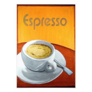Vintage Espresso Coffee Photographic Print