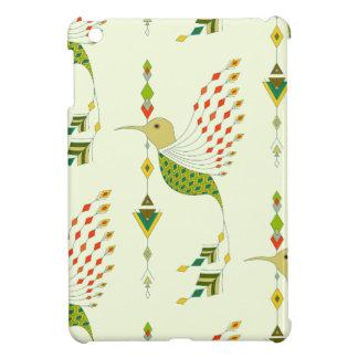 Vintage ethnic tribal aztec bird case for the iPad mini