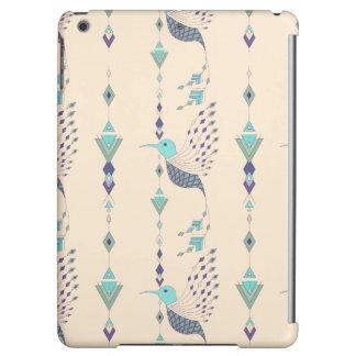 Vintage ethnic tribal aztec bird iPad air case