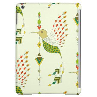 Vintage ethnic tribal aztec bird iPad air cases