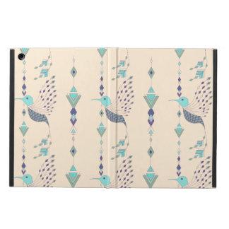 Vintage ethnic tribal aztec bird iPad air cover