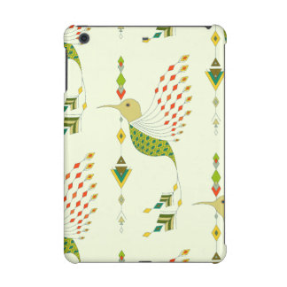 Vintage ethnic tribal aztec bird iPad mini case
