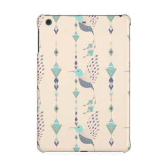 Vintage ethnic tribal aztec bird iPad mini retina cover