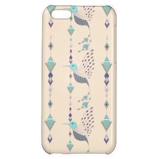 Vintage ethnic tribal aztec bird iPhone 5C cover
