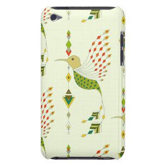 Vintage ethnic tribal aztec bird iPod touch cases