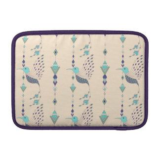 Vintage ethnic tribal aztec bird MacBook sleeve