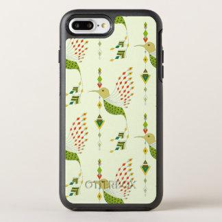 Vintage ethnic tribal aztec bird OtterBox symmetry iPhone 8 plus/7 plus case