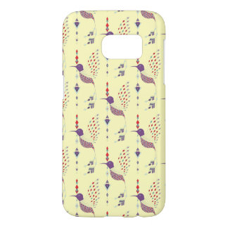 Vintage ethnic tribal aztec bird samsung galaxy s7 case