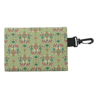 Vintage ethnic tribal aztec ornament accessory bag