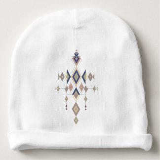 Vintage ethnic tribal aztec ornament baby beanie