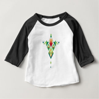 Vintage ethnic tribal aztec ornament baby T-Shirt