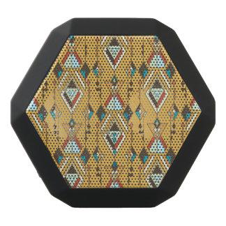 Vintage ethnic tribal aztec ornament black bluetooth speaker