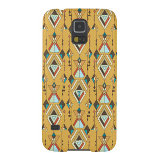 Vintage ethnic tribal aztec ornament cases for galaxy s5