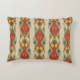 Vintage ethnic tribal aztec ornament decorative pillow