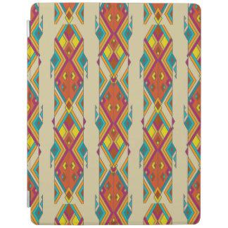 Vintage ethnic tribal aztec ornament iPad cover