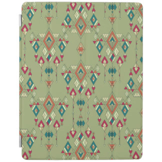 Vintage ethnic tribal aztec ornament iPad cover