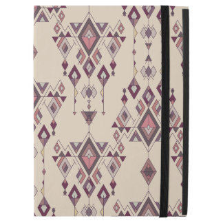"Vintage ethnic tribal aztec ornament iPad pro 12.9"" case"