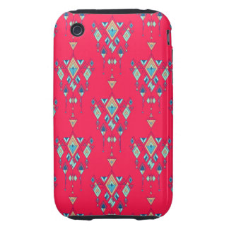 Vintage ethnic tribal aztec ornament iPhone 3 tough cover